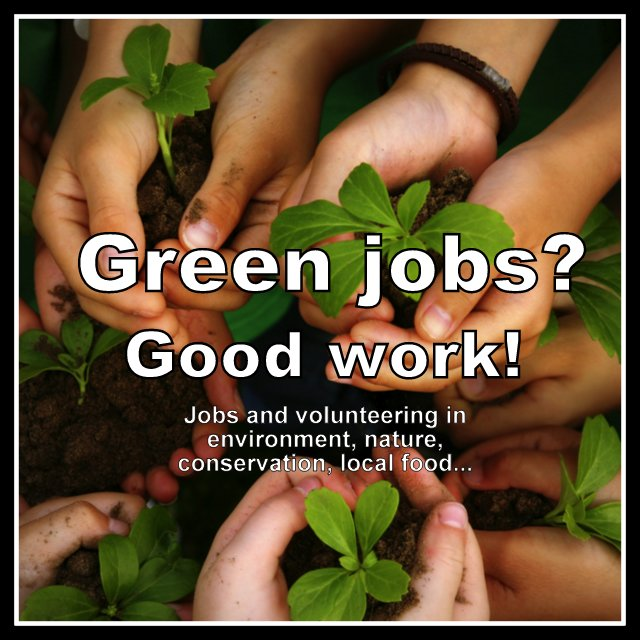 Green and environmental jobs: GoodWork.ca